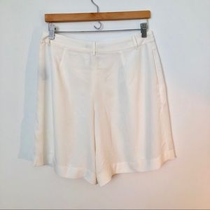 Ralph Lauren white short culottes